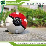 Pokemon는 충전기 LED 빛을%s 가진 공 힘 은행 10000mAh 간다