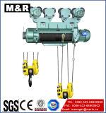 125kg het elektrische Hijstoestel van de Kabel van de Draad van Jiangsu