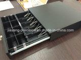 Caja de dinero Jy-410b con construido en el cable para conectarse a cualquier impresora de recibos