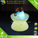 Tavolino da salotto di vetro della mobilia del LED per il giardino