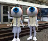 党のためのカスタマイズされた目のマスコットの衣裳