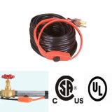 Cable térmico caliente del tubo de agua de la venta los 60FT para los tubos congelados