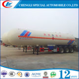 dos eixos 56cbm 3 do LPG do gás reboque Semi