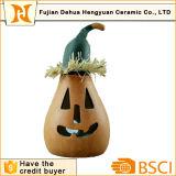 Arti di ceramica della zucca LED per la decorazione di Halloween