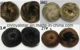 Venta caliente la cabeza redonda de la manera sintética peluca de la cola de caballo