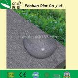 Através da placa do cimento da fibra da placa do silicato do cálcio da cor