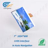 7 Schnittstelle LCD-Bildschirmanzeige Tuch Bildschirm des Zoll-1024 (RGB) X600 Lvds
