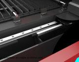 Cnc-Kohlenstoffstahl-Blatt-Faser-Laser-Markierungs-Gravierfräsmaschine