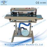 Máquina automática da selagem do malote contínuo vertical com roda do ferro