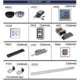 Controle de acesso impermeável da impressão digital RFID do metal