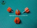 Parafuso de polegar principal plástico personalizado da linha masculina