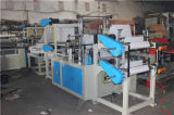 Rllb Two Line Plastic Garbage Bag Roll Making Machine mit Core