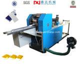 Máquina de papel plegable llena del pañuelo de la cuenta automática