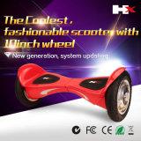 Scooter de équilibrage d'individu sec de roue de pouce 2 de Hx 10 avec l'individu de Bluetooth équilibrant Hoverboard électrique