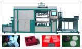 Высокоскоростной Пластиковые вакуум-формовочная машина с помощью PLC Control