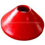 Forro elevado da bacia do aço de manganês das peças Wear-Resistant da alta qualidade