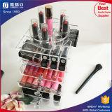 Hete Acryl Kosmetische Organisator met de Compartimenten van de Lippenstift