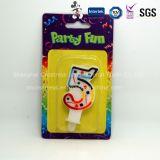 China-Berufserzeugnis-Qualitäts-rauchlose gelbe Geburtstag-Kerze