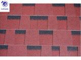 12 Farben verdoppeln Artasphaltdach-Schindel-Baumaterialien