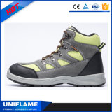 다채로운 스웨드 가죽 위 여자 안전 신발 Ufb027