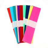 10의 색깔 꽃 포장 삽화 종이를 위한 혼합 다채로운 크레이프지 파라핀 종이