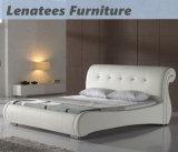 A058 steuern Möbel-ledernes Europa-Art-Bett automatisch an