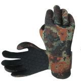 Перчатки неопрена для рыболовства и звероловства (HX-G0071)