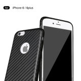 Nuovo Arrival Cell Phone Carbon Fiber Back Caso per il iPhone 6