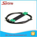 Corde de saut de modélisation durable de câble de vitesse avec le traitement en aluminium, corde de saut, corde de saut à grande vitesse réglable, corde de saut de Crossfit