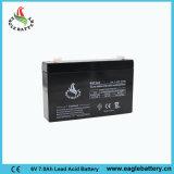 batteria acida al piombo sigillata ricaricabile del AGM di 6V 7ah per la scala