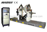 ユニバーサル水平のベルトの回転子のバランスをとる機械(HB500-PI)