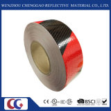 "2 "" innen. X 150 ' ft Honeycomb Black/Red Double Colors Reflective Tape (C3500-S)"