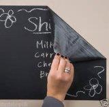 Mural adhesivo desprendible de la nota de la etiqueta engomada de la etiqueta de la pizarra de la pared del vinilo de la pizarra