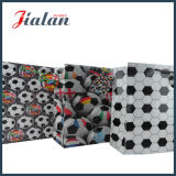 札が付いているフットボールによって印刷される光沢のあるラミネーションのカスタムペーパーショッピング・バッグ