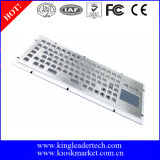 Painel Mount Metal Keyboard com Function Keys e Touchpad