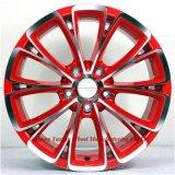 o carro 17inch orlara bordas da roda de carro da borda da liga para Audi