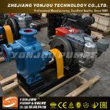 Bomba de água de esgoto centrífuga horizontal do motor Diesel do ZW