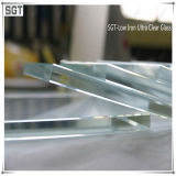 8mm 10mm 15mm Low Iron Ultra Clear Glass with Lacquered
