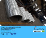 Sewer Application를 위한 반원형 Galvanized Corrugated Steel Culvert Plate