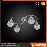 4개의 전구 화려한 가져오기 수출 Sputnik 샹들리에 지구 펀던트 가벼운 램프