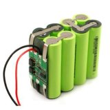 18650 pacchetto della batteria di ione di litio di 18.5V 2.6ah Rechageable per la batteria elettrica degli strumenti