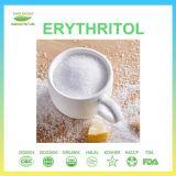 A boa qualidade do Erythritol natural do edulcorante do produto comestível tem o estoque