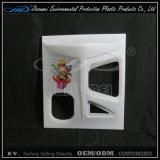 Recarga de Controle Remoto Aplicação ao ar livre impermeável RGB LED Cube
