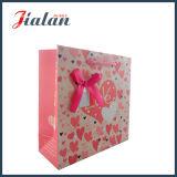 День Valentine «я тебя люблю» & мешок подарка покупкы Bowknot бумажный