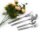 مطعم سكّين مرآة إنجاز يثبت سكّين [ستينلسّ ستيل] فضّيّ مائدة