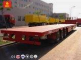 중국 트럭 50 톤 낮은 침대 세미트레일러