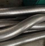 De Flexibele Buis van het Roestvrij staal van Stripwound