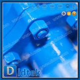 Didtek API 6Dのレバーは鋳造物を2部分のWcbの浮遊球弁作動させた