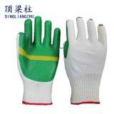 10g T/C Shell-Sicherheits-Arbeits-Handschuh mit lamelliertem Latex-Gummi