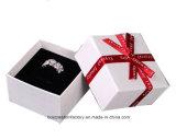 Rectángulo de regalo de la joyería de la cartulina/rectángulo de joyería de encargo del regalo del collar de la cartulina